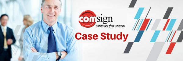 קומסיין, חתימה דיגיטלית Case Study