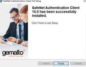 safenet authentication client 10.0 setup